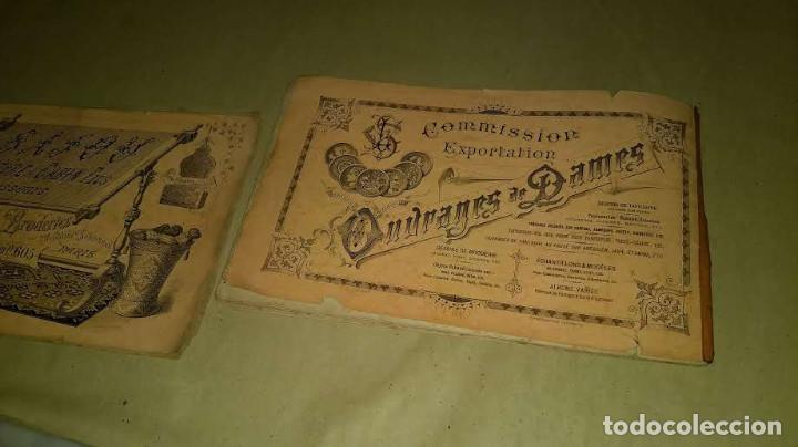 Antigüedades: Dessins de Broderies Sajou Paris. Álbumes Nº 605 y 606 - Foto 41 - 191729745