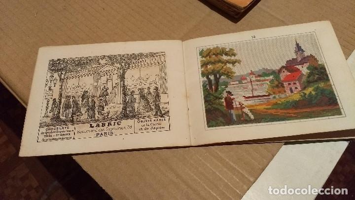 Antigüedades: Recueil de Motifs et Alphabets Coloriés Pour Travaux en Tapisserie. Paris 1876. Álbum Nº 402 - Foto 3 - 191733770