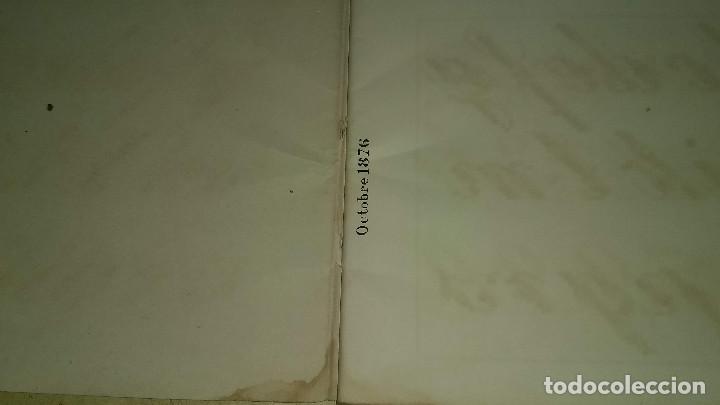 Antigüedades: Recueil de Motifs et Alphabets Coloriés Pour Travaux en Tapisserie. Paris 1876. Álbum Nº 402 - Foto 6 - 191733770
