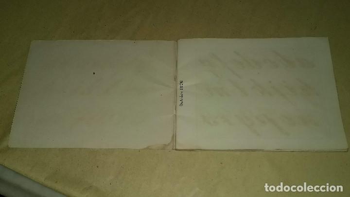 Antigüedades: Recueil de Motifs et Alphabets Coloriés Pour Travaux en Tapisserie. Paris 1876. Álbum Nº 402 - Foto 7 - 191733770