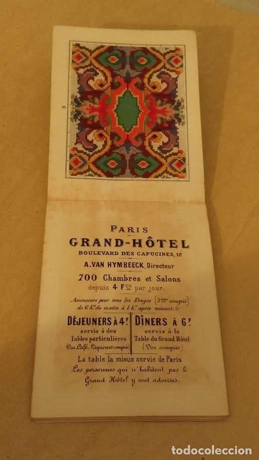 Antigüedades: Recueil de Motifs et Alphabets Coloriés Pour Travaux en Tapisserie. Paris 1876. Álbum Nº 402 - Foto 15 - 191733770