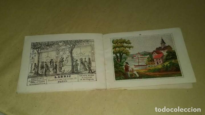 Antigüedades: Recueil de Motifs et Alphabets Coloriés Pour Travaux en Tapisserie. Paris 1876. Álbum Nº 402 - Foto 20 - 191733770