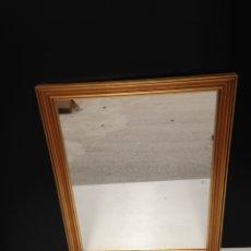 Antigüedades: ANTIGUO ESPEJO PAN DE ORO. Lote 191739873