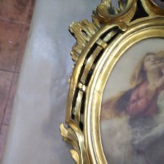 Antigüedades: MARCO MUY BONICO, ANTIGUO PAN DE ORO CORNUCOPIA. Lote 191776021