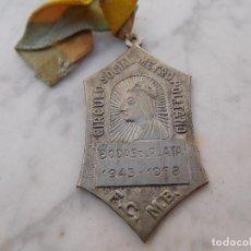 Antigüedades: MEDALLA N.S. DE MONTSERRAT METRO BARCELONA. Lote 191810211