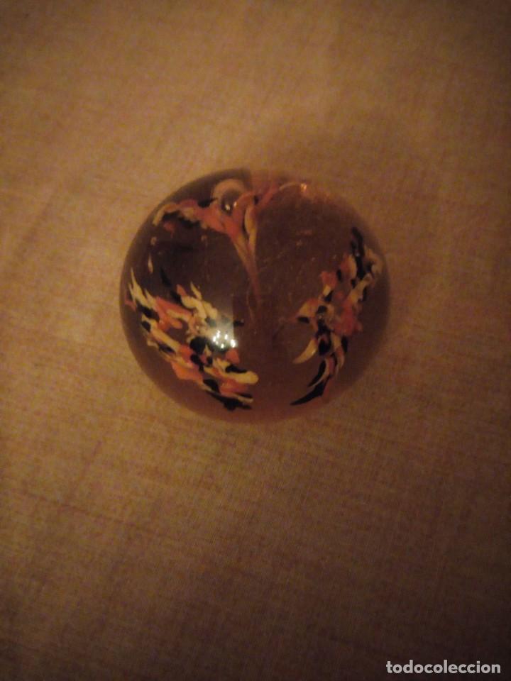 Antigüedades: Precioso pisa papeles de cristal de murano precioso colores. - Foto 2 - 191833958
