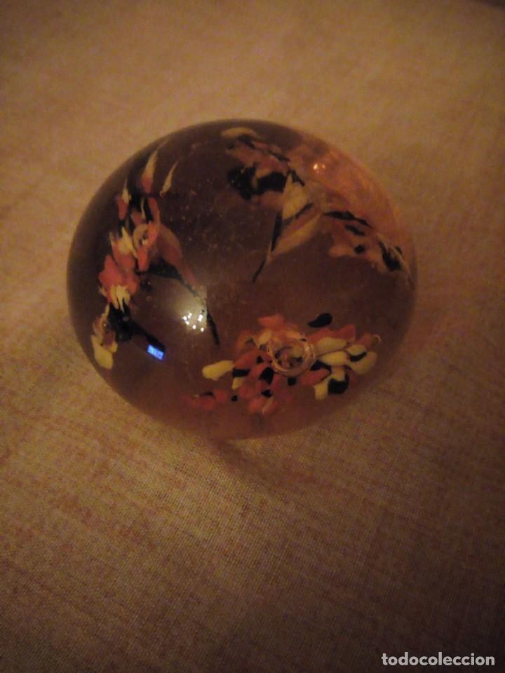 Antigüedades: Precioso pisa papeles de cristal de murano precioso colores. - Foto 3 - 191833958