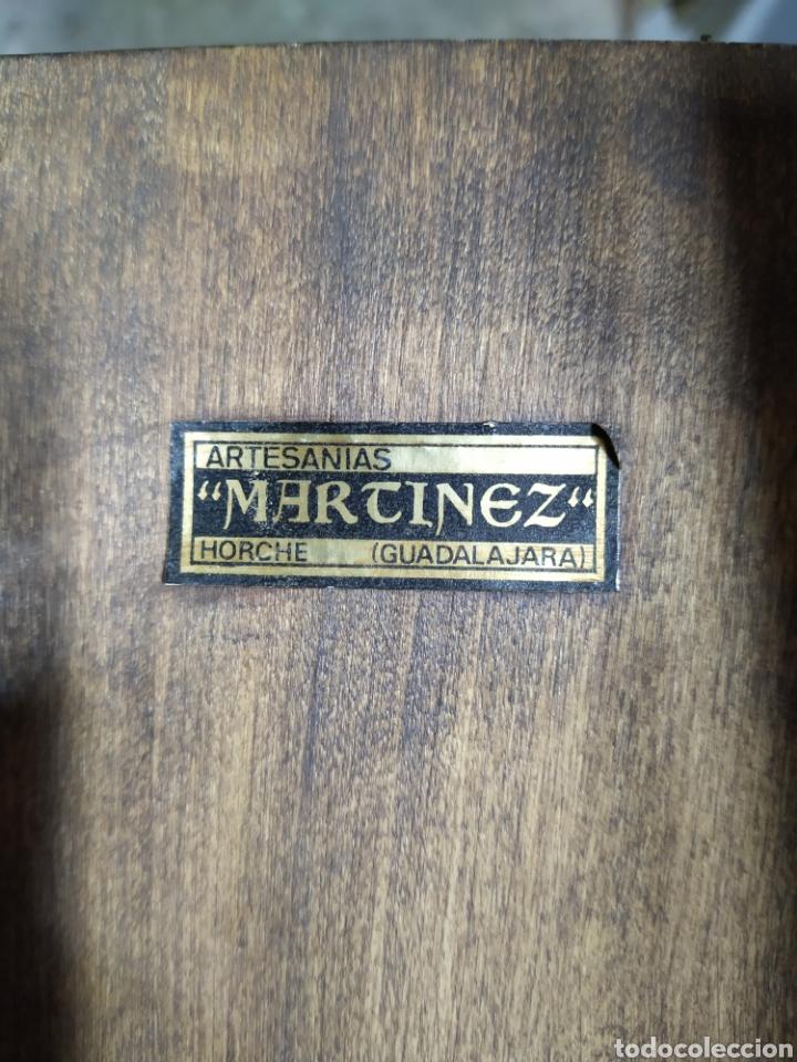 Antigüedades: Tabla tallada san fernando - Foto 5 - 191837933