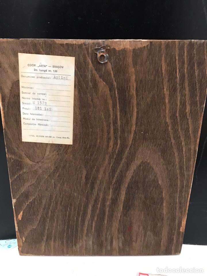 Antigüedades: RETABLO PINTADO A MANO - Foto 2 - 191860412