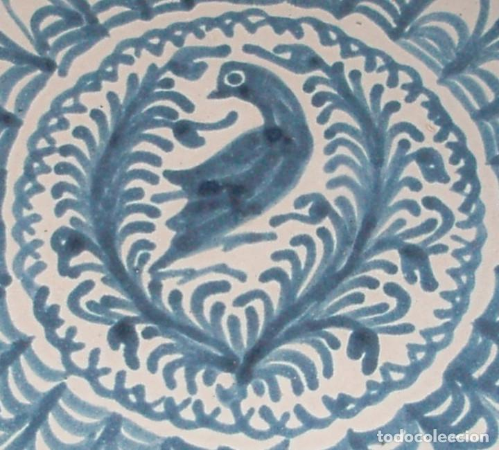 PLATO DE CERÁMICA. FAJALAUZA, GRANADA. SIGLO XX. (Antigüedades - Porcelanas y Cerámicas - Fajalauza)