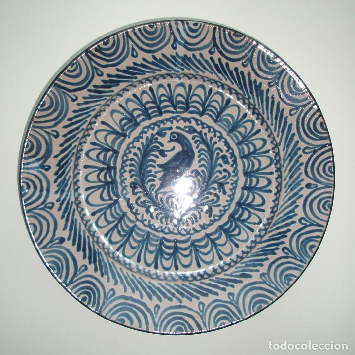 Antigüedades: PLATO DE CERÁMICA. FAJALAUZA, GRANADA. SIGLO XX. - Foto 4 - 191862060