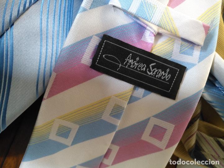 Antigüedades: gran lote de corbatas, zara , seda y otras marcas ver todas las fotos - Foto 8 - 191869042
