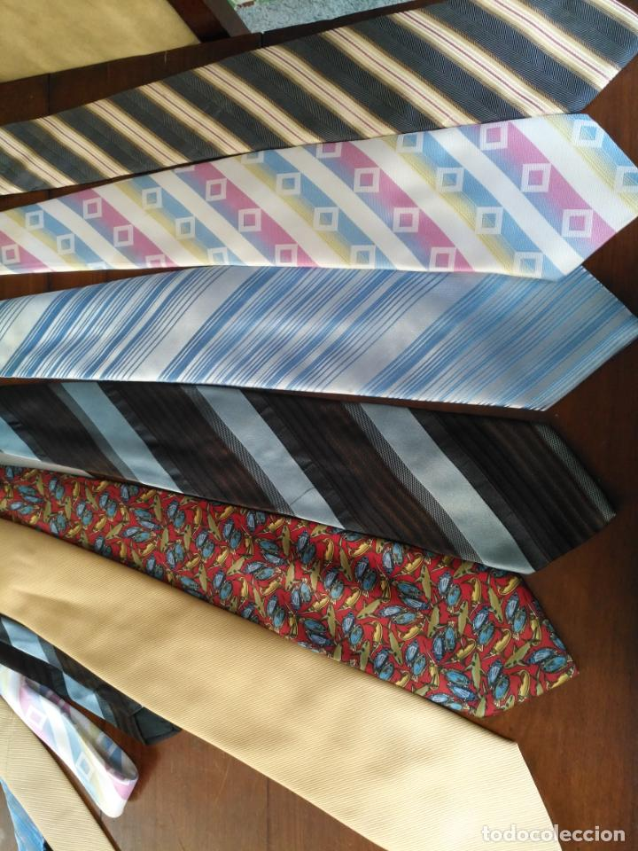 Antigüedades: gran lote de corbatas, zara , seda y otras marcas ver todas las fotos - Foto 9 - 191869042