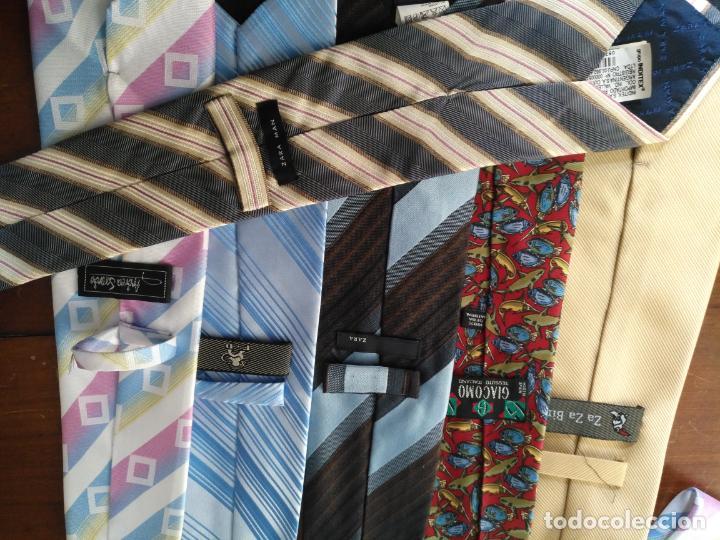 Antigüedades: gran lote de corbatas, zara , seda y otras marcas ver todas las fotos - Foto 10 - 191869042