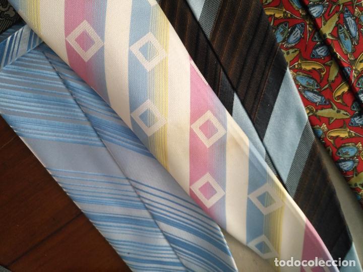 Antigüedades: gran lote de corbatas, zara , seda y otras marcas ver todas las fotos - Foto 11 - 191869042