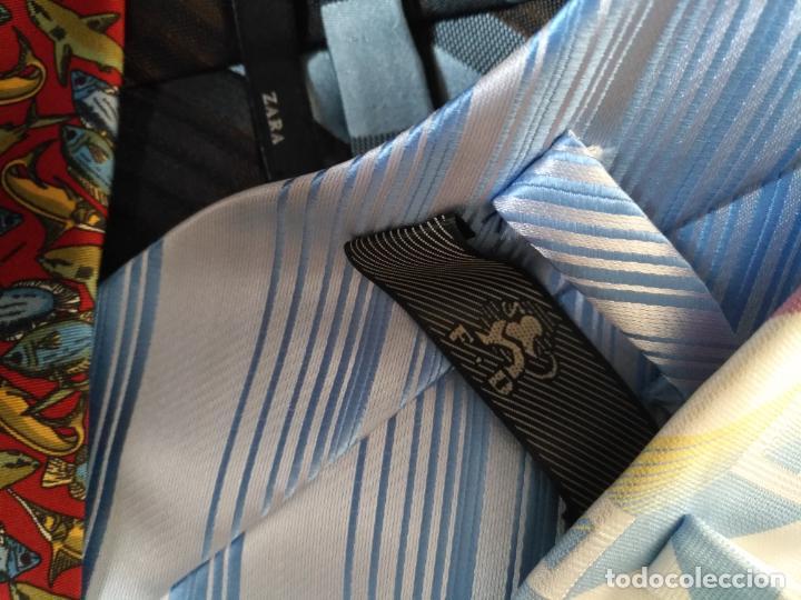 Antigüedades: gran lote de corbatas, zara , seda y otras marcas ver todas las fotos - Foto 16 - 191869042