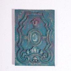 Antigüedades: TALLA DE MADERA DECORATIVA. Lote 191881682