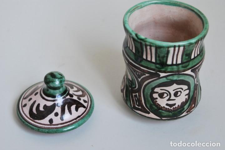 Antigüedades: BOTE DE COCINA - CERÁMICA PUNTER, TERUEL - PIMENTÓN - Foto 5 - 191896797