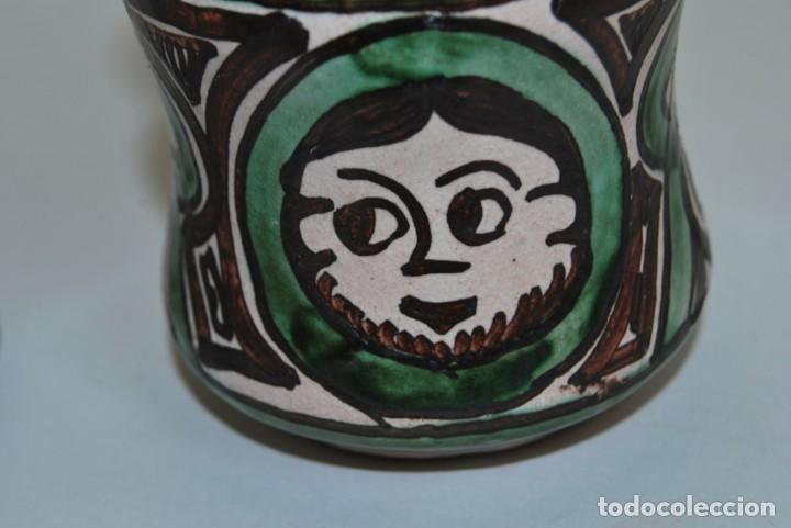 Antigüedades: BOTE DE COCINA - CERÁMICA PUNTER, TERUEL - PIMENTÓN - Foto 6 - 191896797