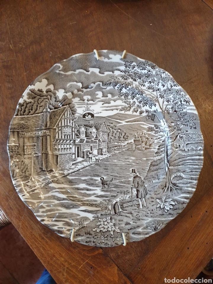 PLATO PORCELNA (Antigüedades - Porcelanas y Cerámicas - Otras)