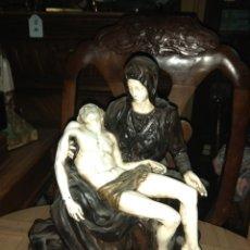 Antigüedades: FIGURA RELIGIOSA PIEDAD DE MIGUEL ANGEL - PORCELANA BISCUIT - THE FRANKLIN MINT 1989 -. Lote 191916265