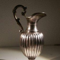 Antigüedades: PRECIOSA JARRA MACIZA DE PLATA DE LEY 925 PESO 407 GR. Lote 191932407