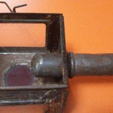 Antigüedades: FAROL DE CARRO ANTIGUO SXIX. Lote 191968741