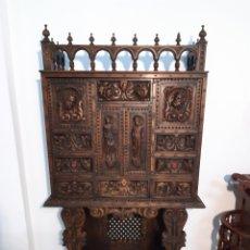 Antigüedades: BARGUEÑO CASTELLANO ( 160 X85×34). Lote 191969996