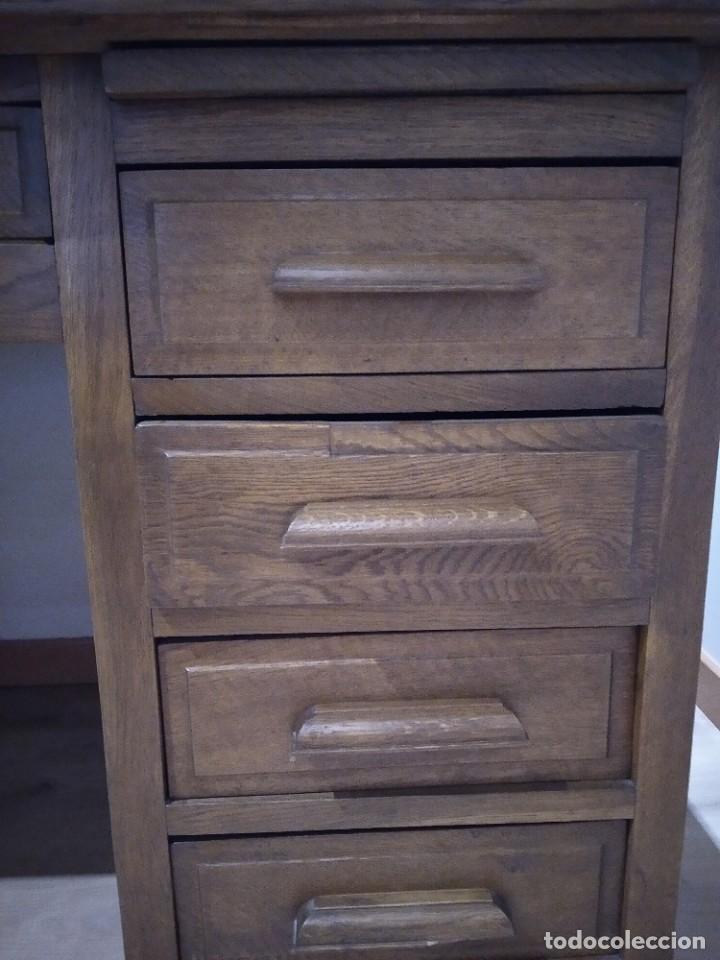 Antigüedades: Escritorio antiguo madera - Foto 4 - 191992788