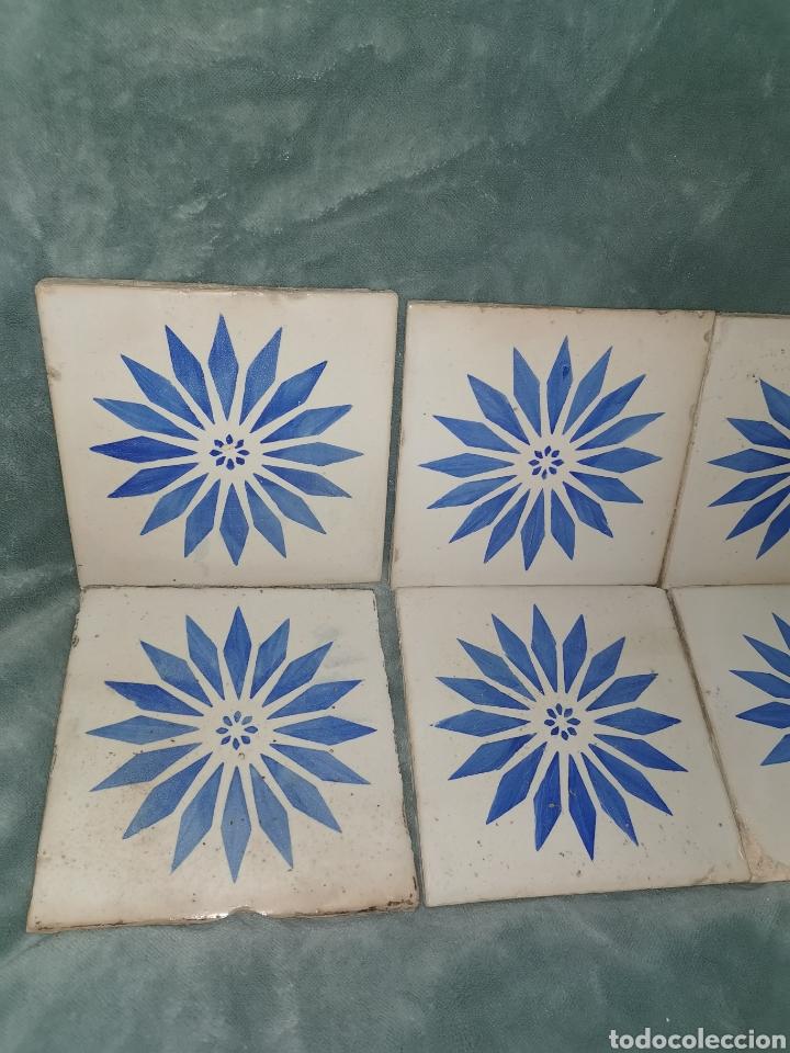 Antigüedades: 10 azulejos granadinos. Principios de siglo XX - Foto 2 - 191994567