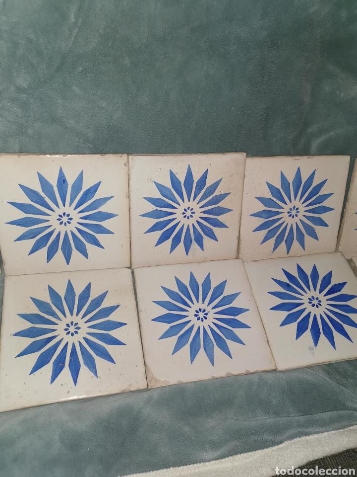 Antigüedades: 10 azulejos granadinos. Principios de siglo XX - Foto 3 - 191994567