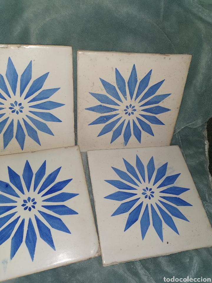 Antigüedades: 10 azulejos granadinos. Principios de siglo XX - Foto 4 - 191994567