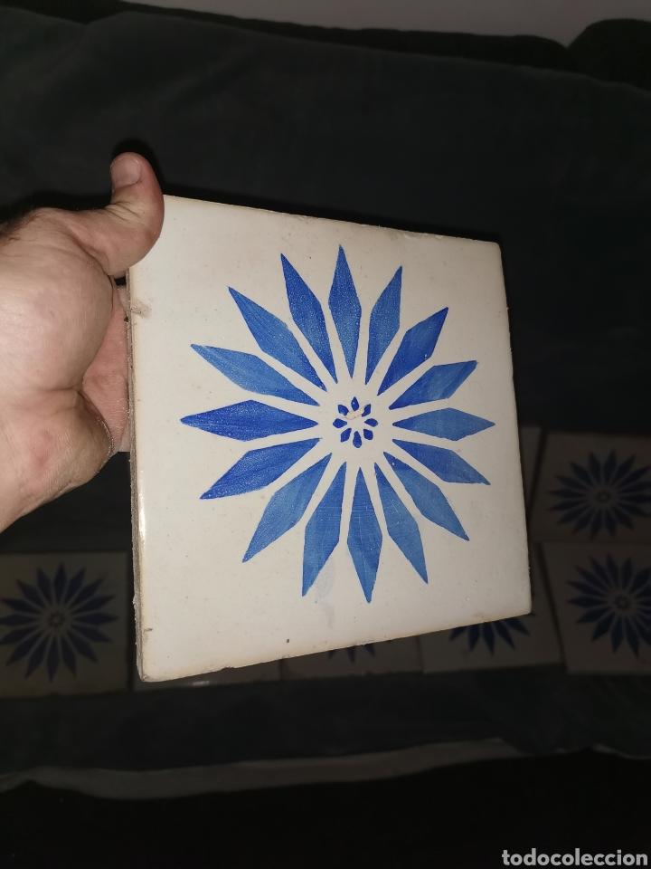 Antigüedades: 10 azulejos granadinos. Principios de siglo XX - Foto 5 - 191994567