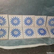 Antigüedades: 10 AZULEJOS GRANADINOS. PRINCIPIOS DE SIGLO XX. Lote 191994567
