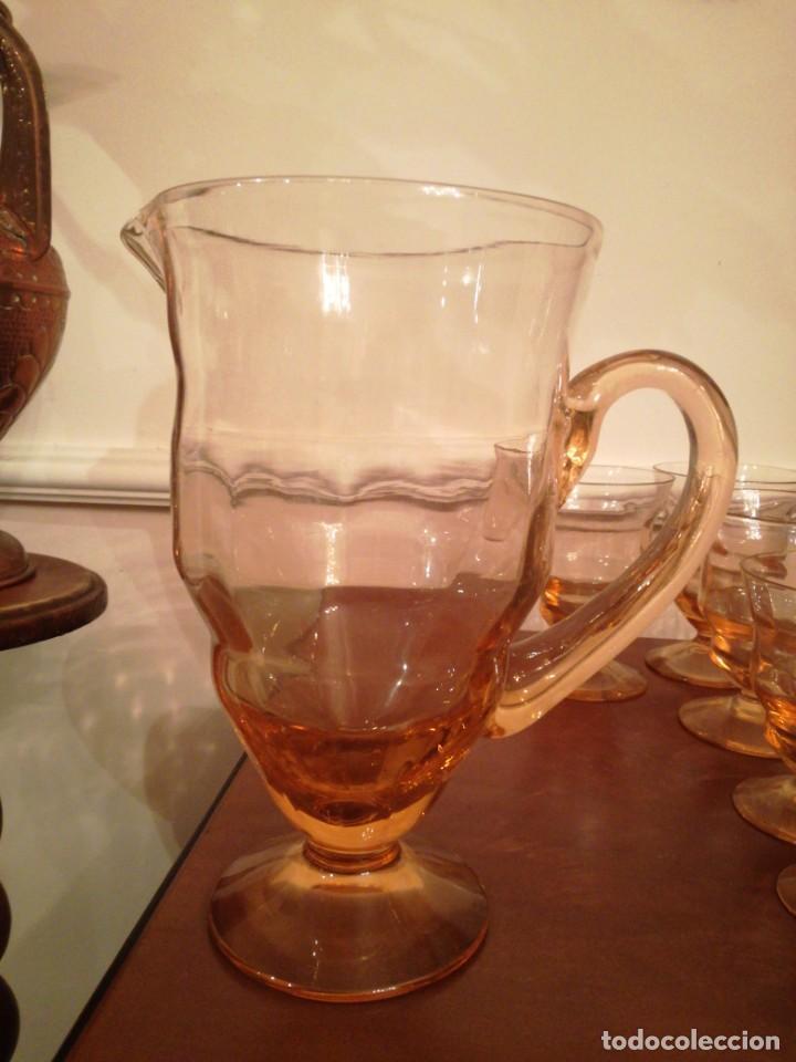 Antigüedades: Antigua cristalería de fino cristal forma campaniforme - Foto 3 - 210748616