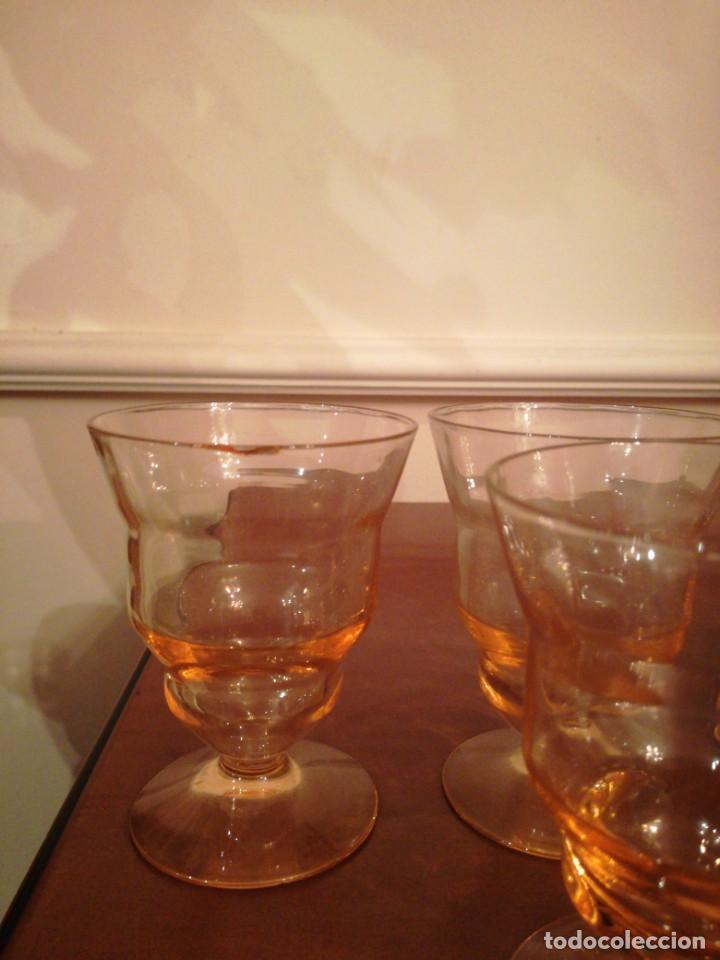 Antigüedades: Antigua cristalería de fino cristal forma campaniforme - Foto 6 - 210748616