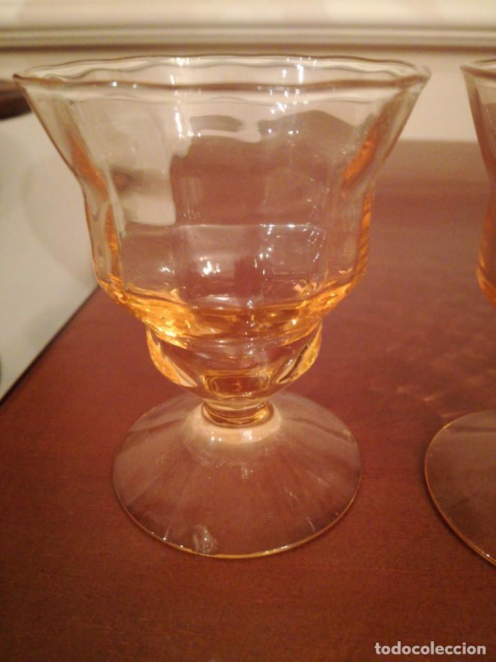 Antigüedades: Antigua cristalería de fino cristal forma campaniforme - Foto 7 - 210748616