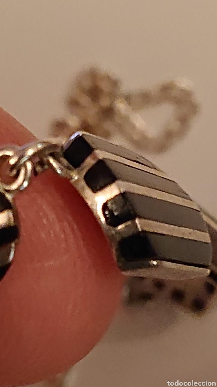 Antigüedades: Espectacular gargantilla plata de ley 925 - Foto 6 - 182164693