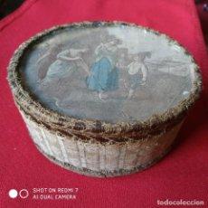 Antigüedades: ANTIGUA CAJA JOYERO. Lote 192035158