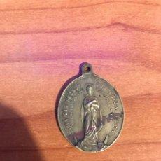 Antigüedades: ANTIGUA MEDALLA S. LUIS GONZAGUA - MARIA SIN PECADO CONCEBIDA ROGAD POR NOSOTROS QUE ACUDIMOS A VOS. Lote 192039698