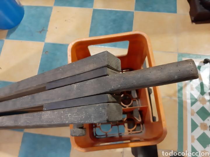 Antigüedades: 1940 Máquina para preparar el lino enografia Gallega 1900 pieza museo - Foto 4 - 166745686