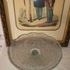Antigüedades: ANTIGUO FRUTERO CRISTAL. Lote 192049758