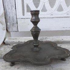 Antigüedades: PALMATORIA EN ESTAÑO. Lote 192077961