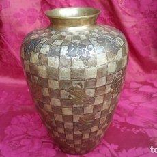 Antigüedades: JARRÓN ESMALTE CLOISSONE.. Lote 192080978