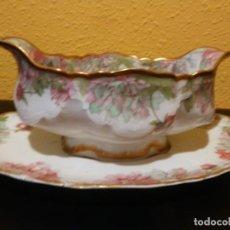 Antigüedades: SALSERA DE LIMOGES.HAVILAND & Cº. FRANCE. Lote 192085807