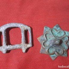 Antigüedades: GRANDES APLIQUES MEDIEVALES. Lote 192107908