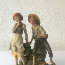 Antigüedades: FIGURA DE GIUSEPPE, ARMANI, CAPODIMONTI, ITALIA 1980'S. . Lote 192119006