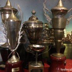 Antigüedades: 6 TROFEOS DE RALLYS COSTA DEL AZAHAR 1962/63/69/70/71 I RALLYE C. AZAHAR LOS DE LAS IMÁGENES.. Lote 192132055