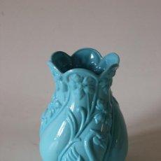 Antiquités: JARRON OPALINA AZUL FRANCIA C. 1900. Lote 192167022