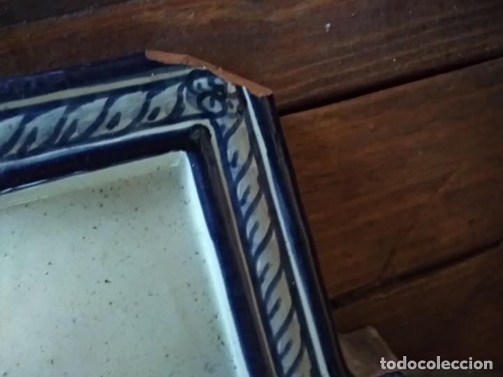 Antigüedades: PLACA CERAMICA GRANADA - Foto 2 - 192170521